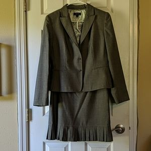 Charcoal Tahari light weight suit
